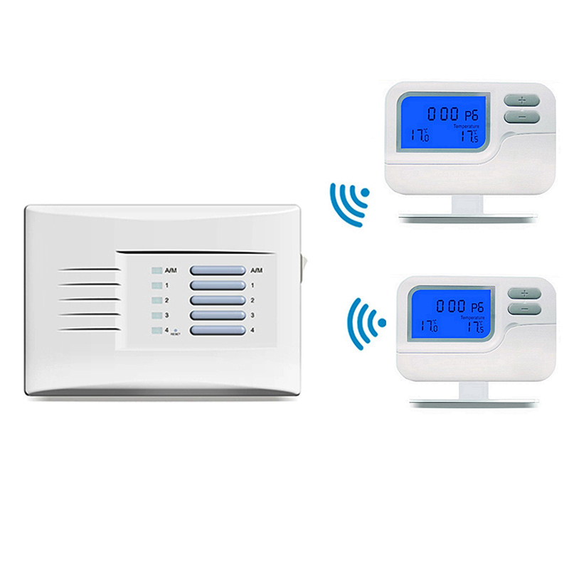Multi Zone Thermostat Pack S2302rf 1 To 4